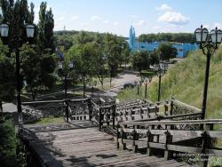 "Лестница от ""Детинца"" к речному вокзалу"