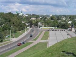 Вид на Успенский монастырь