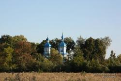 Церковь Рождества Богородицы в селе Загребелье