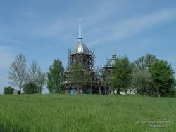 Реставрация церкви в Козляничах