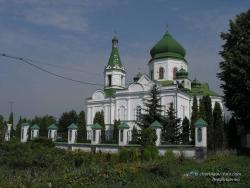 Церковь Вознесения Господнего 18ст.в Нежине