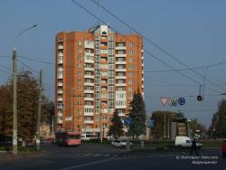 Площадь Победы и памятник освободителям Чернигова