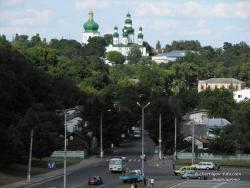 Вид на Елецкий Успенский монастырь
