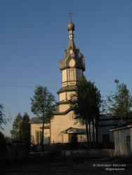 Деревянная церковь в селе Чернотичи
