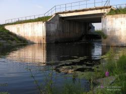 Шлюз на реке Убедь