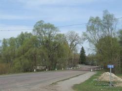 Весна на сельской улице