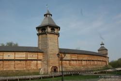 Цитадель Батуринской крепости в городе Батурин